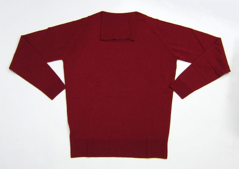 JOHN SMEDLEY (Pullovers in Cranberry)